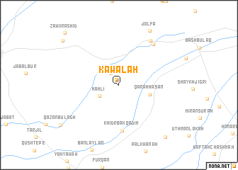 map of Kawālah