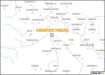 map of Kawankathaung