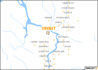 map of Kawbut