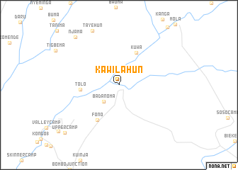 map of Kawilahun