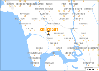map of Kawkadut