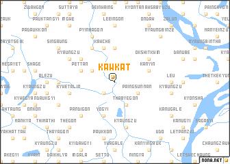 map of Kawkat