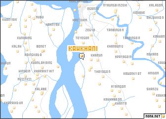 map of Kawkhani