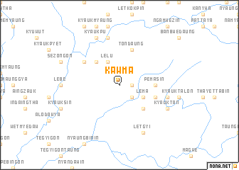 map of Kawma