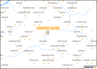 map of Kawngchung