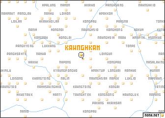 map of Kawnghkam