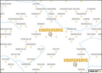 map of Kawng-hsang