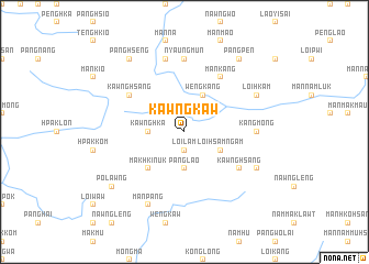 map of Kawngkaw