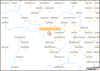 map of Kawngkeng