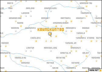 map of Kawngkuntao