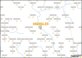 map of Kawnglen