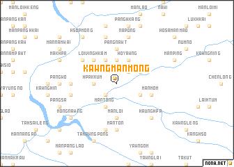 map of Kawng Mān Möng