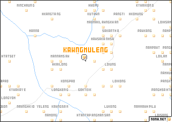 map of Kawngmuleng