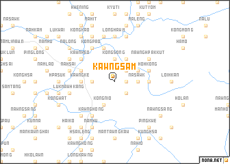 map of Kawng-sam