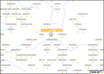 map of Kawngtong