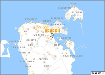 map of Kawrah