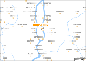 map of Kawsein Ale