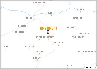 map of Kayaaltı