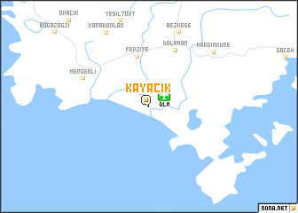 map of Kayacık