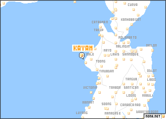 map of Kayam