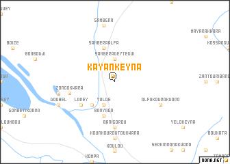 map of Kayan Keyna