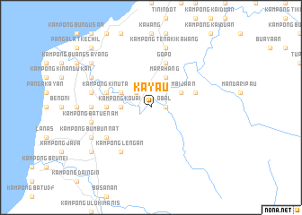map of Kayau