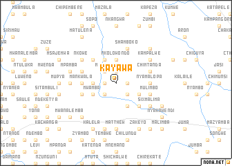 map of Kayawa
