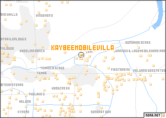 map of Kay-Bee Mobile Villa