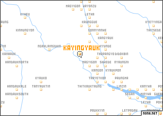 map of Kayingyauk