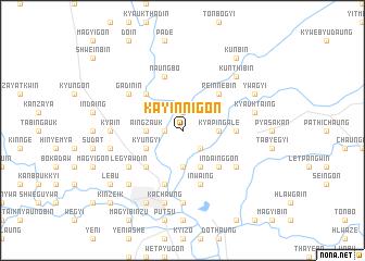 map of Kayinnigon