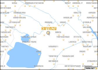 map of Kayinzu