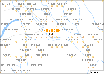 map of Kayudok