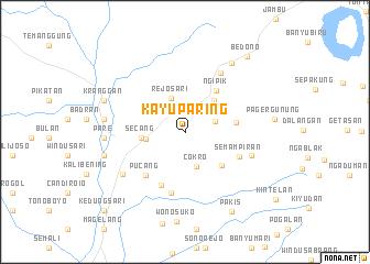 map of Kayuparing