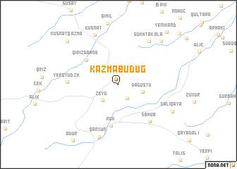 map of Kazmabudug