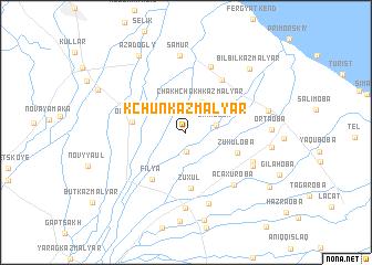 map of Kchunkazmalyar