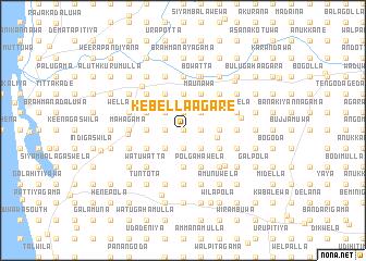map of Kebella-agare