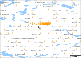 map of Kehlkendorf