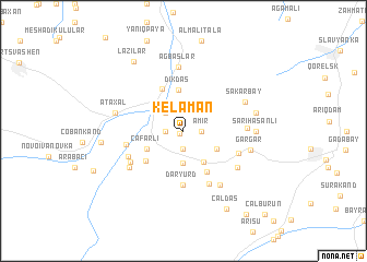 map of Kelaman