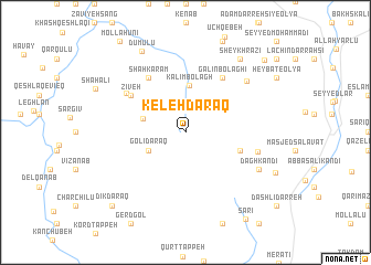 map of Keleh Daraq