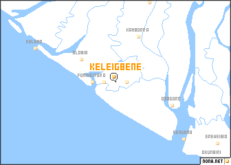 map of Keleigbene