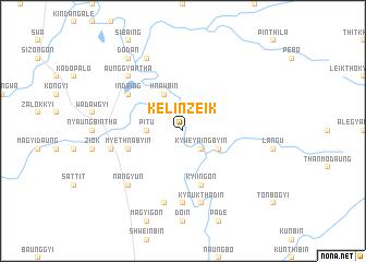 map of Kelinzeik