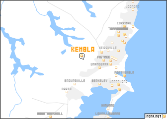 map of Kembla