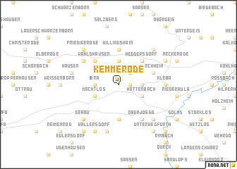 map of Kemmerode