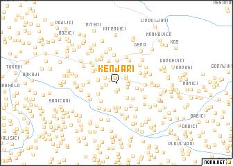 map of Kenjari