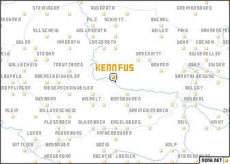 map of Kennfus