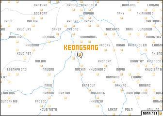 map of Keo Ngsàng