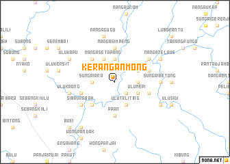 map of Kerangan Mong