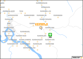 map of Keranji