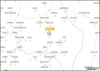 map of Kera