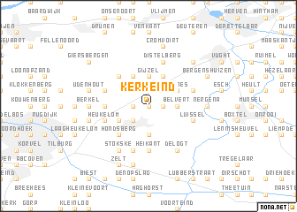 map of Kerkeind